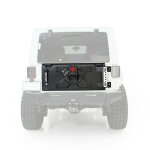 Smittybilt 76410 in Stock Xrc Tailgate W Tire Carrier 07 18 Jeep Wrangler Jk