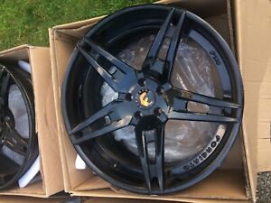 Forgiato F2 10 Ecl Custom Gloss Black 22 Exclusive Rims Gently Used