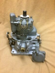 1955 Ford Thunderbird Lincoln Mercury Complete Holley 4v Carburetor Eck 9510 T