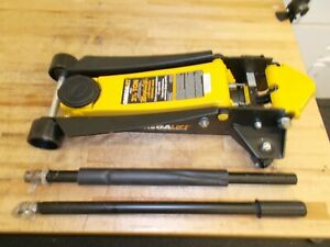 Omega Lift Equipment 3 5 Ton Capacity Service Floor Jack 29038