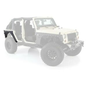 Smittybilt 76882 in Stock Xrc Rear Corner Guards W Fenders 07 18 Jeep Jk 4 dr