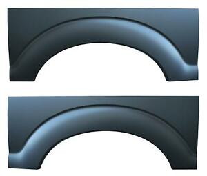 Rear Wheel Arch Quarter Bed Panel Fits 10 16 Ford Super Duty Pickup Truck Pair