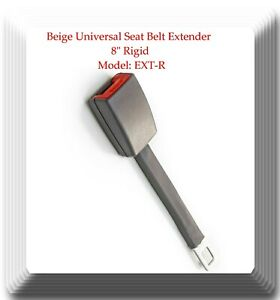 Grey Universal Seat Belt Extender 8 Rigid Extension Model Ext r With Buckle
