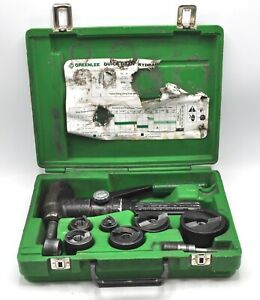 Greenlee 7904sb Quick Draw 90 Hydraulic Knockout Punch Driver Dies Electrical