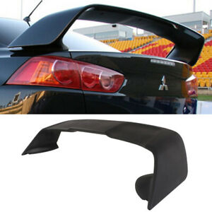 Fit 2008 2017 Mitsubishi Lancer Evo 10 Evo X Style Rear Trunk Abs Spoiler Wing