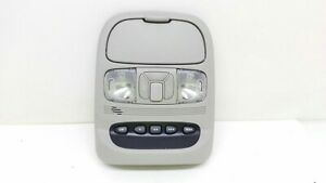 07 08 09 10 Toyota Sienna Center Roof Console Gray W Homelink Map Lights Oem