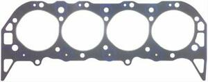 Two 2 Fel Pro Head Gaskets Composition Type 4 370 Bore 039 Comp Bbc 1027