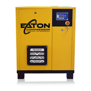 30hp Rotary Screw Air Compressor Direct Drive 3 Phase 460v Fixed Speed