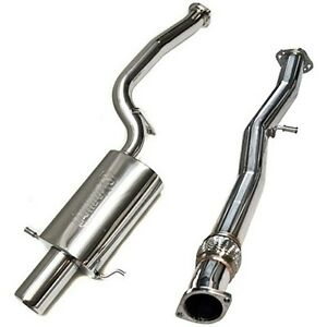 Turbo Xs Catback Exhaust System For Subaru Forester Xt 2002 2008 Fxt04 cbe