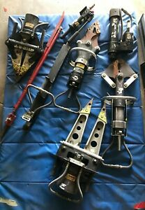 8 Pcs Hurst Jaws For Life Set around 400 Lbs priced To Sell
