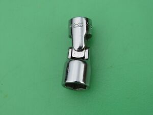 New Snap On 3 8 Tmus121 1 4 Drive Sae 6 Point Shallow Swivel Universal Socket