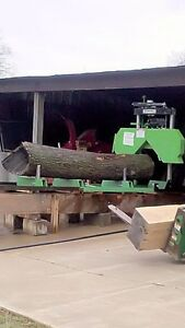 New lumber Maker 2019 Fully Complete 7hp 301cc Portable Sawmill Saw Mill