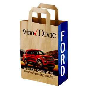 Eco Friendly Paper Bags With Ads Logos Custom Images Hot Deals See Pics