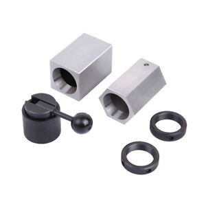 5c Collet Block Set Square Hex Rings Collet Closer Holder With Case