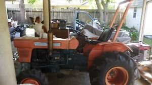 86 Kubota Tractor L245dt Only 260 Hours Driven