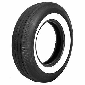 Coker Classic Bias ply Tire 750 14 Bias ply Whitewall 52400 Each
