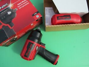 New Snap On Pt850 Red 1 2 Drive Impact Air Wrench Gun Pt 850 W Box Red Boot