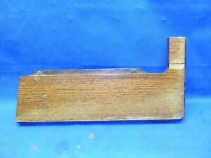 Antique Singer Treadle Sewing Machine Wood Table Top Part