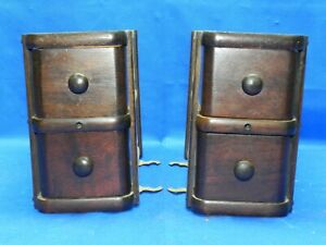 Antique Singer Treadle Sewing Machine Wood 4 Drawers With Frames