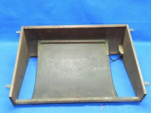 Antique Singer Treadle Sewing Machine Wood Cabinet Dust Cover Bottom Belly Pan