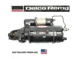 Delco Remy 10461066 37mt Remanufactured Starter 12v Rotation Cw Fast Shipping