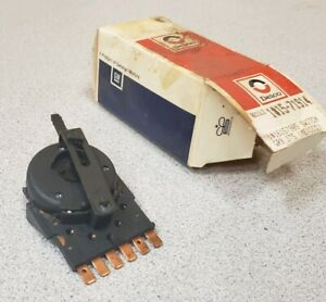 Delco Gm Heater A C Control Blower Switch Gm 16157905 Nos Part In Box