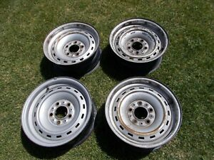 Chevy Gmc Truck 15 Rally 5 Lug Steel Wheel 73 87 C 10 1500 Silverado