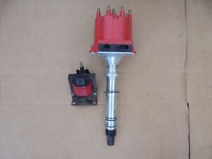 87 92 Camaro Firebird Tpi Tbi Msd Pro Billet Distributor 8366 With Ignition Coil