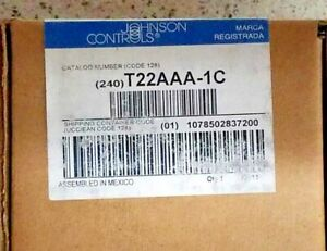 Johnson Controls T22aaa 1c Heating Line Voltage Thermostat new