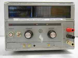 Kenwood Pd36 20ad Regulated Power Supply