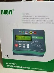 Dy4300 Duoyi Digital Earth Tester Ground Resistance Tester Meter