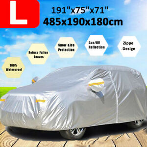 Neverland Suv Car Cover Waterproof Breathable Snow Rain Dust Resistant Protector