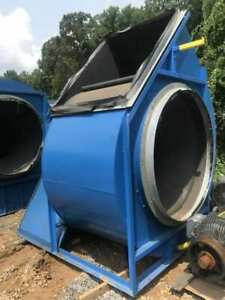Chicago Size 600 Industrial Centrifugal Blower W 125 Hp Motor