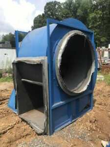 Chicago Size 60 Industrial Centrifugal Blower W 125 Hp Motor