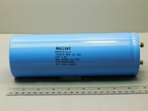 Mallory Cgs104u050x8l 100 000uf 50v 85c 10 75 Large Can Electrolytic Capacitor