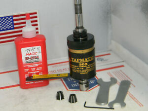 Tapmatic 30x Reversible Tapping Attachment 1 2 shank 2 Collets wrenches