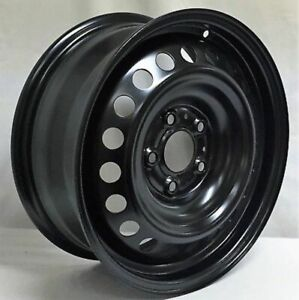 New 16 Inch 5 Lug Black Steel Wheel Rim Fits Nissan Sentra We99526n