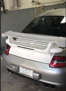 New Porsche 911 997 Fiber Glass Gt2 Deck Lid And Wing Turbo For Coupe Cars