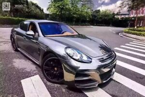 2014 2016 Panamera 970 2 Wd Style Front Bumper Body Kit With Lights
