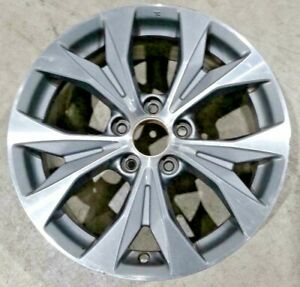2012 2013 Honda Civic 64025 A Wheel 17 Rim Grey Machined Oem 42700tr4a91 Crb