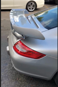 New Porsche 911 997 S Fiber Glass Gt2 Deck Lid And Wing For Coupe Cars