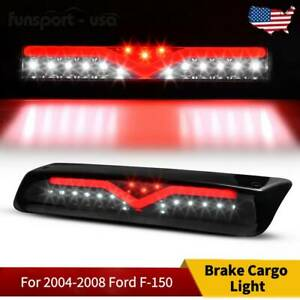 3d Led Bar 3rd Third Brake Light For 2004 2008 Ford F 150 Smoke Rear Cargo Lamp