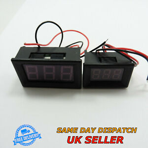 7v 150v Dc 0 36 0 56 Voltmeter Led Two Wires Digital Voltage Meter Motor Bike