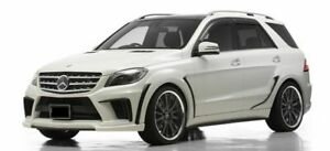 2012 2015 Mercedes Benz Ml Class W166 Wd Style Full Wide Body Kit W Exhaust Tip