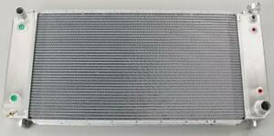 Be Cool 66069 Radiator Direct Fit Aluminum Natural Chevy Gmc Each