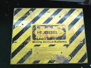 Hubbell Wiring Device kellems Sbsb1a Power Distribution Spider Box 50 Ac 120v