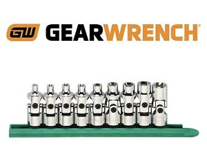 Gearwrench 80985 9 Piece 3 8 Drive Universal External Torx Socket Set New Usa