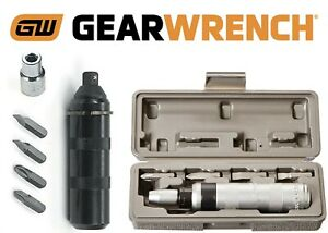 Gearwrench 1140d 6 Piece 3 8 Drive Impact Driver Set With Bits New Free Ship