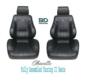 1970 Chevelle El Camino Touring Ii Front Bucket Seats Assembled