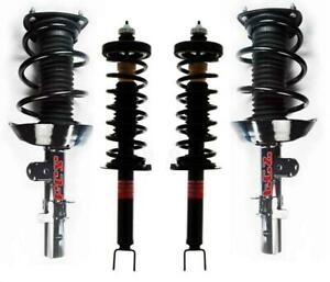 4 100 New Complete Spring Struts Fits For 13 15 2 4l 4 Door Honda Accord